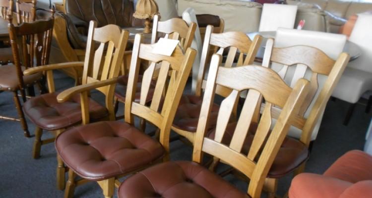 6 krzeseł 4+2 senior