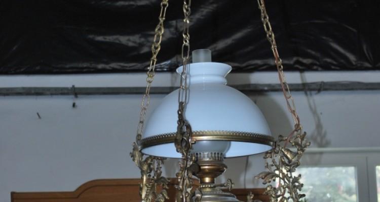 """Żyrandol """"lampa naftowa"""""""